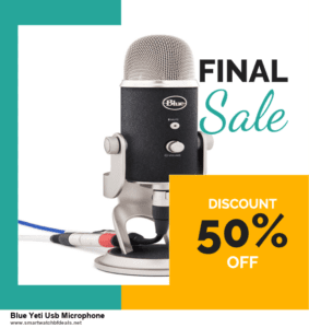 5 Best Blue Yeti Usb Microphone Black Friday 2020 and Cyber Monday Deals & Sales