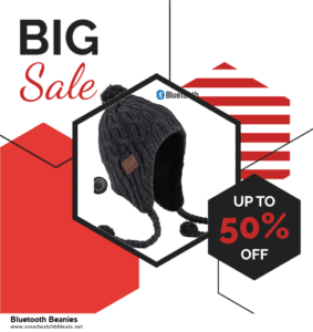6 Best Bluetooth Beanies Black Friday 2020 and Cyber Monday Deals | Huge Discount