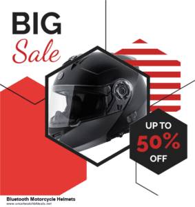 Top 5 Black Friday 2020 and Cyber Monday Bluetooth Motorcycle Helmets Deals [Grab Now]