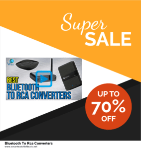 10 Best Black Friday 2020 and Cyber Monday  Bluetooth To Rca Converters Deals | 40% OFF