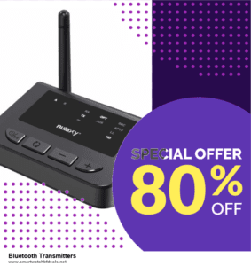 List of 10 Best Black Friday and Cyber Monday Bluetooth Transmitters Deals 2020