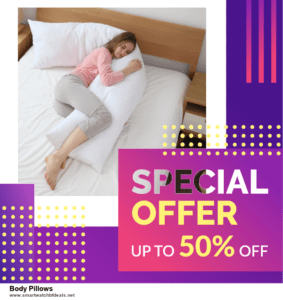 5 Best Body Pillows Black Friday 2020 and Cyber Monday Deals & Sales