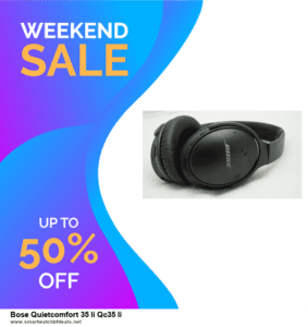 Top 5 Black Friday and Cyber Monday Bose Quietcomfort 35 Ii Qc35 Ii Deals 2020 Buy Now