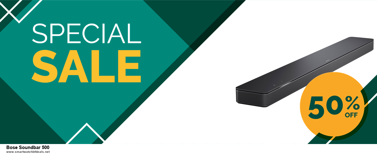 13 Exclusive Black Friday and Cyber Monday Bose Soundbar 500 Deals 2020