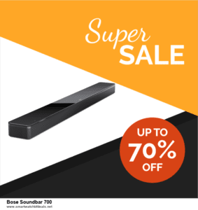 Top 5 Black Friday 2020 and Cyber Monday Bose Soundbar 700 Deals [Grab Now]