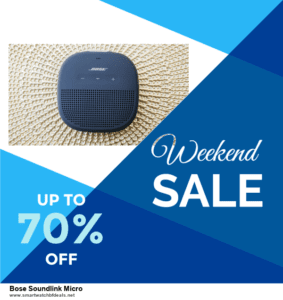 List of 6 Bose Soundlink Micro Black Friday 2020 and Cyber MondayDeals [Extra 50% Discount]