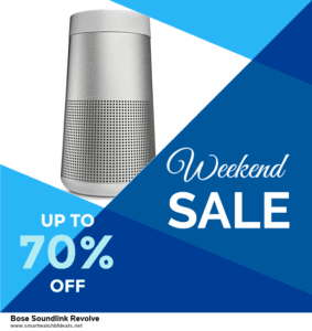 Top 5 Black Friday 2020 and Cyber Monday Bose Soundlink Revolve Deals [Grab Now]