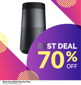 13 Exclusive Black Friday and Cyber Monday Bose Soundlink Revolve Plus Deals 2020