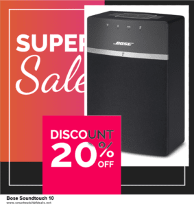10 Best Bose Soundtouch 10 Black Friday 2020 and Cyber Monday Deals Discount Coupons