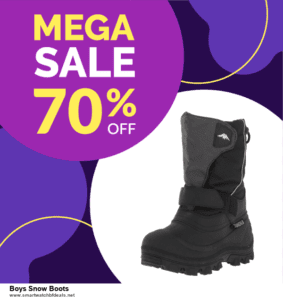 6 Best Boys Snow Boots Black Friday 2020 and Cyber Monday Deals | Huge Discount