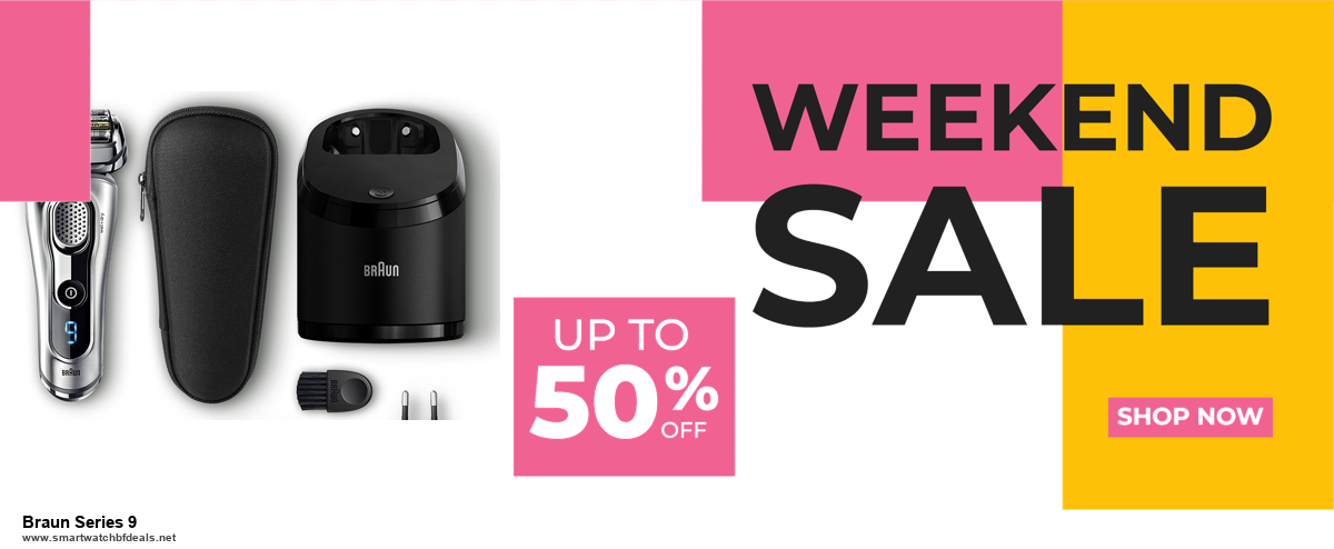Grab 10 Best Black Friday and Cyber Monday Braun Series 9 Deals & Sales