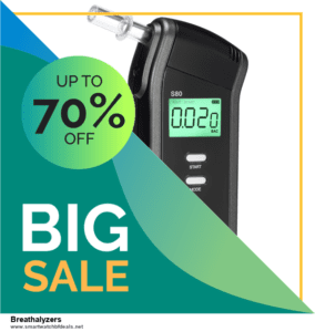 5 Best Breathalyzers Black Friday 2020 and Cyber Monday Deals & Sales