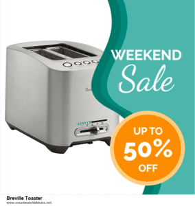 Grab 10 Best Black Friday and Cyber Monday Breville Toaster Deals & Sales