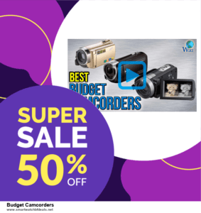 Top 5 Black Friday 2020 and Cyber Monday Budget Camcorders Deals [Grab Now]