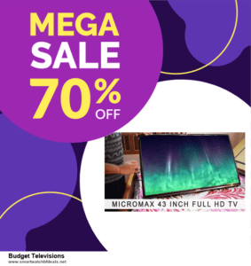 10 Best Budget Televisions Black Friday 2020 and Cyber Monday Deals Discount Coupons