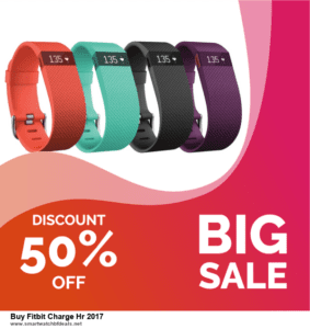 List of 6 Buy Fitbit Charge Hr 2017 Black Friday 2020 and Cyber MondayDeals [Extra 50% Discount]