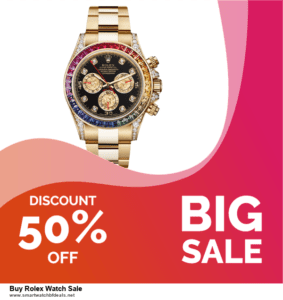 5 Best Buy Rolex Watch Sale Black Friday 2020 and Cyber Monday Deals & Sales