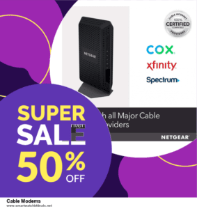 7 Best Cable Modems Black Friday 2020 and Cyber Monday Deals [Up to 30% Discount]