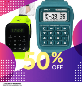 10 Best Calculator Watches Black Friday 2020 and Cyber Monday Deals Discount Coupons