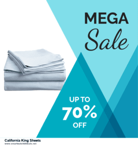13 Best Black Friday and Cyber Monday 2020 California King Sheets Deals [Up to 50% OFF]