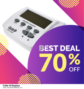 List of 10 Best Black Friday and Cyber Monday Caller Id Displays Deals 2020