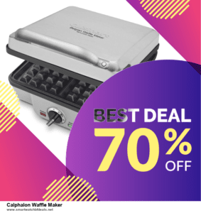 7 Best Calphalon Waffle Maker Black Friday 2020 and Cyber Monday Deals [Up to 30% Discount]