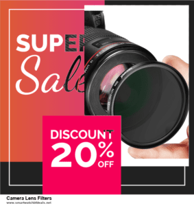 13 Exclusive Black Friday and Cyber Monday Camera Lens Filters Deals 2021