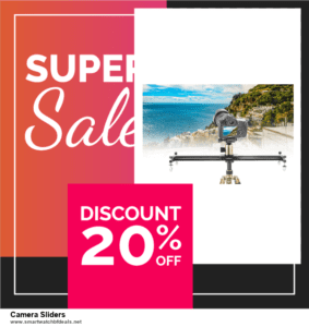 Top 11 Black Friday and Cyber Monday Camera Sliders 2021 Deals Massive Discount