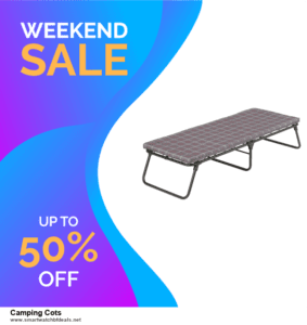 List of 6 Camping Cots Black Friday 2020 and Cyber MondayDeals [Extra 50% Discount]