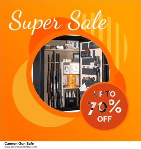 13 Best Black Friday and Cyber Monday 2020 Cannon Gun Safe Deals [Up to 50% OFF]