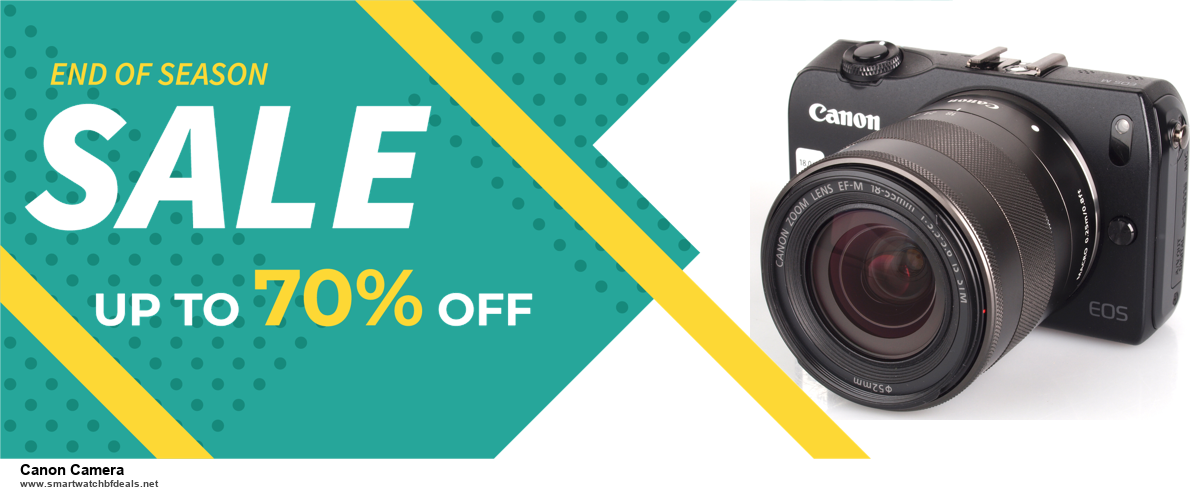 13 Exclusive Black Friday and Cyber Monday Canon Camera Deals 2020