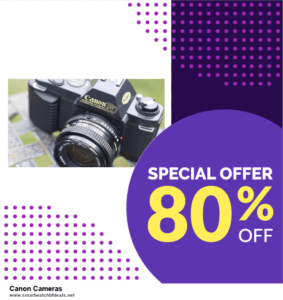 Top 10 Canon Cameras Black Friday 2020 and Cyber Monday Deals