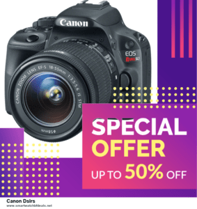 5 Best Canon Dslrs Black Friday 2021 and Cyber Monday Deals & Sales