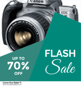 10 Best Black Friday 2020 and Cyber Monday  Canon Eos Rebel Ti Deals | 40% OFF