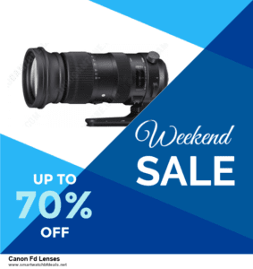 6 Best Canon Fd Lenses Black Friday 2020 and Cyber Monday Deals | Huge Discount