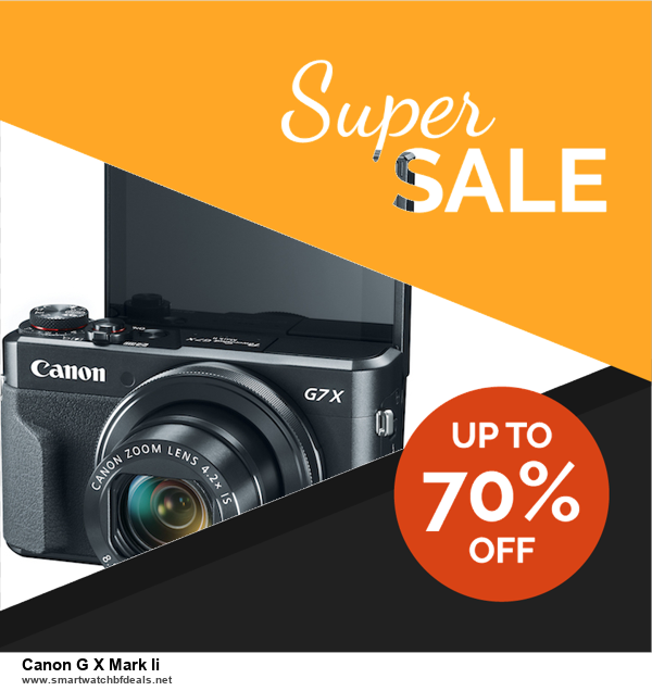 List of 6 Canon G X Mark Ii Black Friday 2020 and Cyber MondayDeals [Extra 50% Discount]