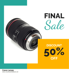 5 Best Canon Lenses Black Friday 2020 and Cyber Monday Deals & Sales