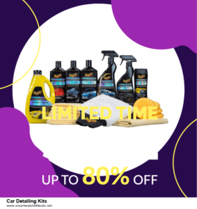 5 Best Car Detailing Kits Black Friday 2020 and Cyber Monday Deals & Sales