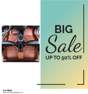 Top 10 Car Mats Black Friday 2020 and Cyber Monday Deals