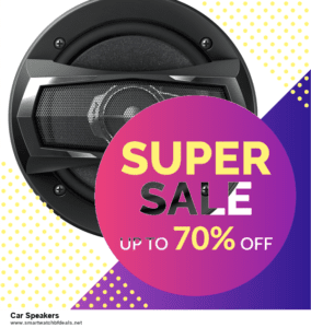 List of 6 Car Speakers Black Friday 2021 and Cyber MondayDeals [Extra 50% Discount]