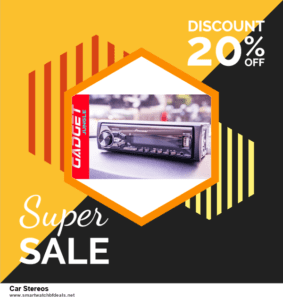 List of 6 Car Stereos Black Friday 2020 and Cyber MondayDeals [Extra 50% Discount]