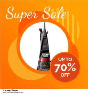 5 Best Carpet Cleaner Black Friday 2020 and Cyber Monday Deals & Sales