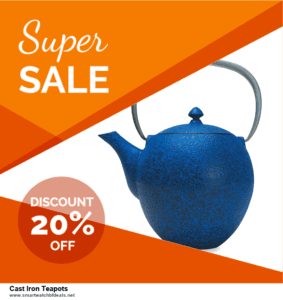Grab 10 Best Black Friday and Cyber Monday Cast Iron Teapots Deals & Sales