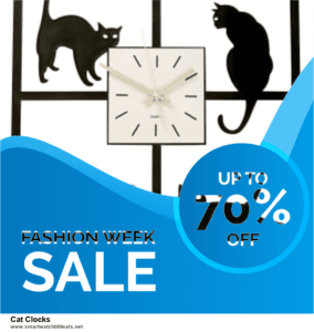 Grab 10 Best Black Friday and Cyber Monday Cat Clocks Deals & Sales