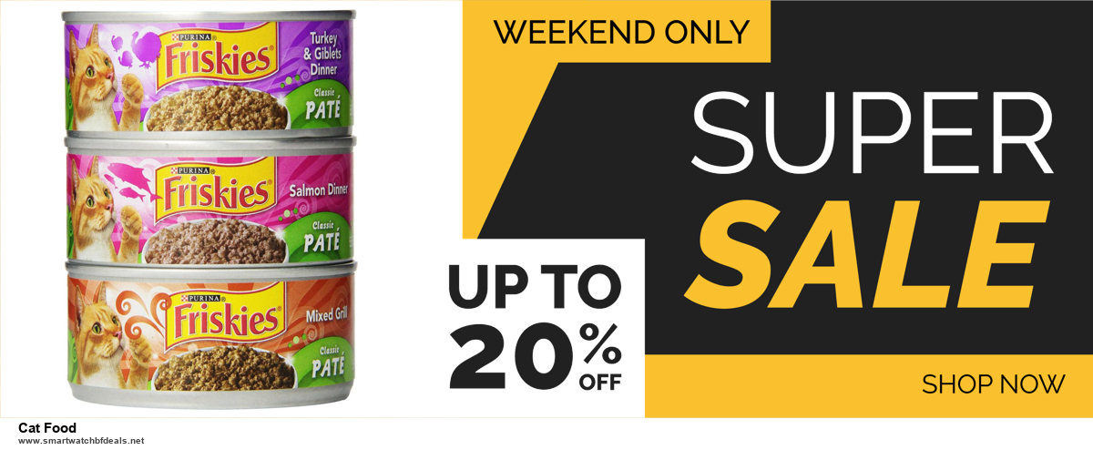 13 Best Black Friday and Cyber Monday 2020 Cat Food Deals [Up to 50% OFF]