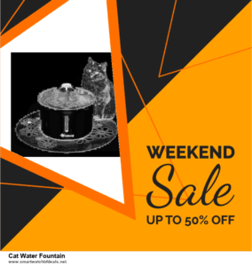 Grab 10 Best Black Friday and Cyber Monday Cat Water Fountain Deals & Sales