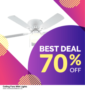 13 Exclusive Black Friday and Cyber Monday Ceiling Fans With Lights Deals 2020