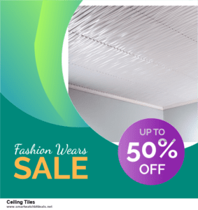 Grab 10 Best Black Friday and Cyber Monday Ceiling Tiles Deals & Sales