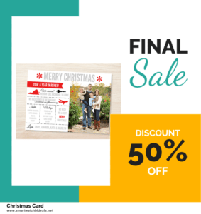 13 Best Black Friday and Cyber Monday 2020 Christmas Card Deals [Up to 50% OFF]