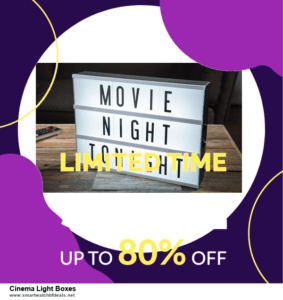 List of 10 Best Black Friday and Cyber Monday Cinema Light Boxes Deals 2020